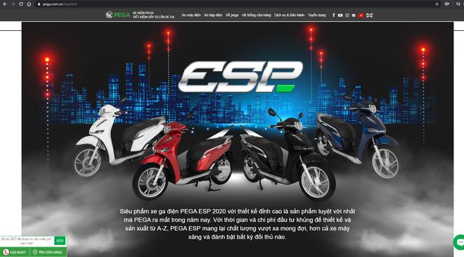 PEGA âm thầm đổi tên eSH thành ESP nhưng vẫn sót, tưởng thôi nhái Honda mà không phải vậy - Ảnh 2.