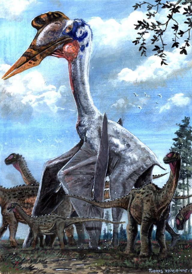 Thằn lằn bay Quetzalcoatlus – Sinh vật khiến khủng long T-rex phải khiếp sợ - Ảnh 1.