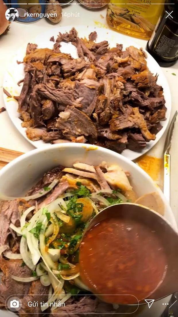 Không nhà hàng đắt đỏ, sao Vbiz tiết kiệm với mâm cơm nhà mùa dịch: Tóc Tiên nịnh chồng món ngon, Băng Di nấu bữa chỉ 50K - Ảnh 26.