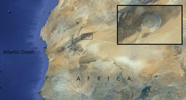 Đẹp độc lạ: Chiêm ngưỡng con mắt của Sahara- điều bí ẩn khiến các nhà khoa học mất ăn mất ngủ - Ảnh 7.
