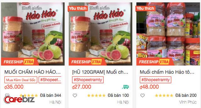 """Muối chấm """"quốc dân"""" Hảo Hảo chua cay chính thức ra mắt thị trường giữa mùa dịch, chỉ mới bán ở Hà Nội - Ảnh 2."""