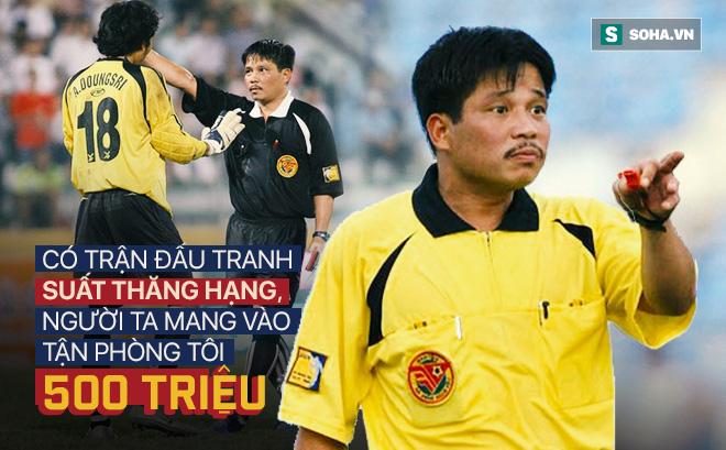 """Trận đòn hụt ở Gia Lai và góc khuất về vị trọng tài """"đạn bắn không thủng"""" nổi tiếng V.League"""