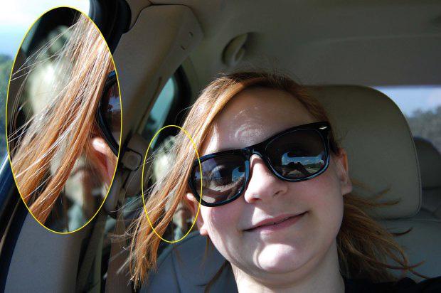 Chụp ảnh selfie, bé gái sau đó mới phát hiện gương mặt kì lạ phía sau và tin rằng nó có liên quan đến vụ tai nạn 1 năm trước - Ảnh 2.
