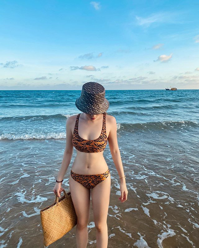 Kỳ Duyên mặc bikini gợi cảm, quấn quýt bên người tình tin đồn - Ảnh 6.