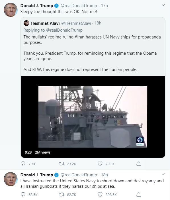 Tổng thống Trump lại vừa cứu giá dầu ngoạn mục chỉ với một dòng tweet đe dọa Iran - Ảnh 2.