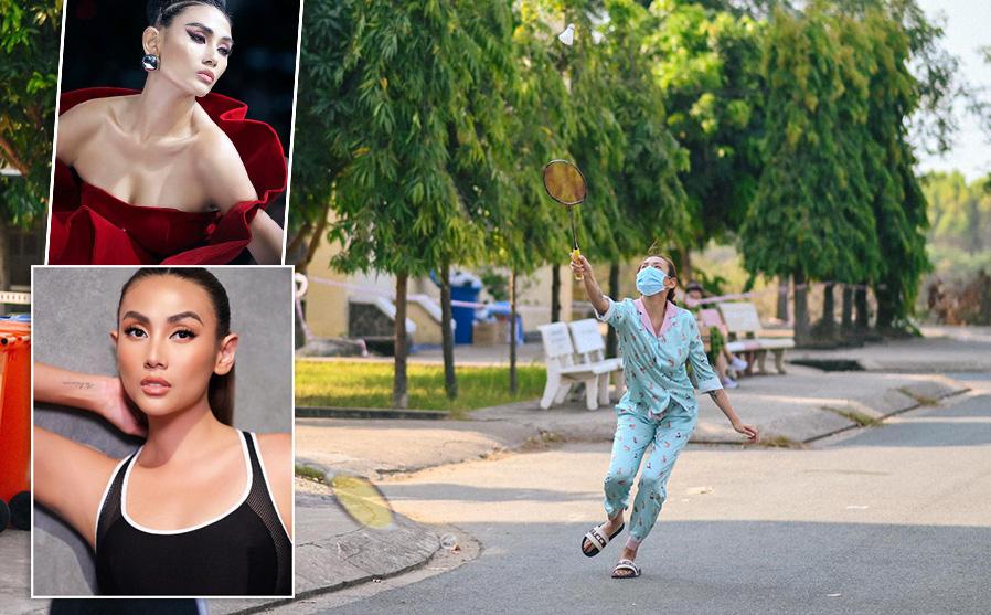 Người mẫu Võ Hoàng Yến tiết lộ những chuyện ít người biết trong khu cách ly
