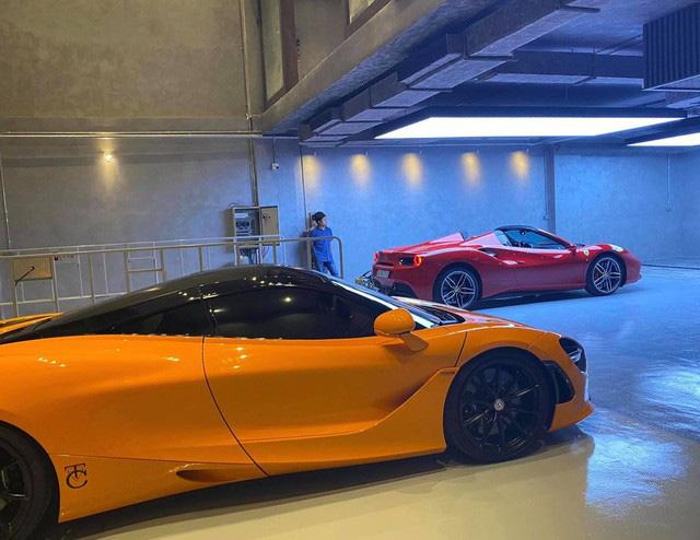 Lộ diện garage mới của Cường Đô-la: Không khác gì showroom siêu xe sang chảnh - Ảnh 2.