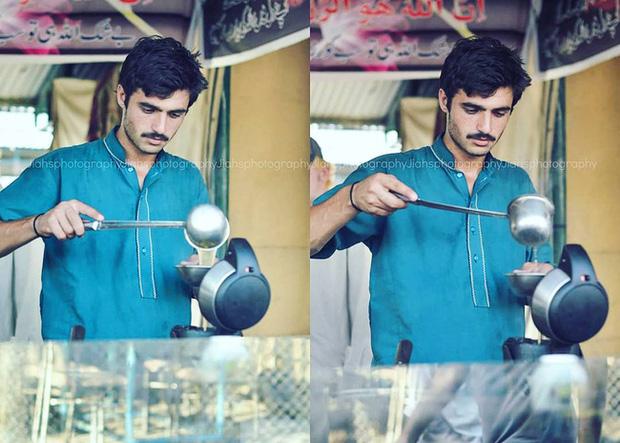Vô tình lọt vào ống kính người lạ 4 năm trước, anh chàng đẹp trai bán trà không ngờ số phận của mình sẽ thay đổi hoàn toàn - Ảnh 3.