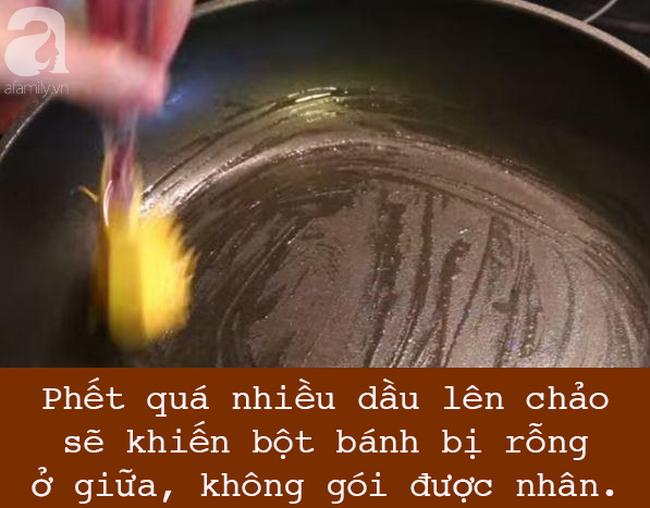 Để làm bánh cuốn bằng chảo chống dính hoàn hảo, nhất định phải tránh 5 sai lầm này - Ảnh 3.