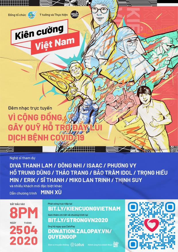 Liveshow Kiên cường Việt Nam thu về 1 tỷ 514 triệu đồng, riêng Đông Nhi và Ông Cao Thắng ủng hộ 250 triệu - Ảnh 1.