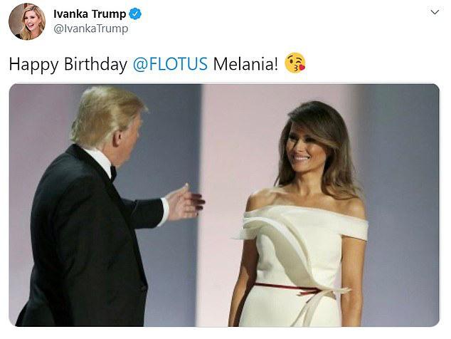 Bước sang tuổi 50, Đệ nhất phu nhân Mỹ được khen vẻ đẹp không tuổi cùng lời chúc sinh nhật đặc biệt của Tổng thống Mỹ - Ảnh 2.