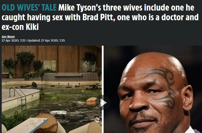 Brad Pitt từng ngoại tình với vợ cựu võ sĩ quyền anh số 1 nước Mỹ, tới mức phải cầu xin để không bị ăn đòn? - Ảnh 1.