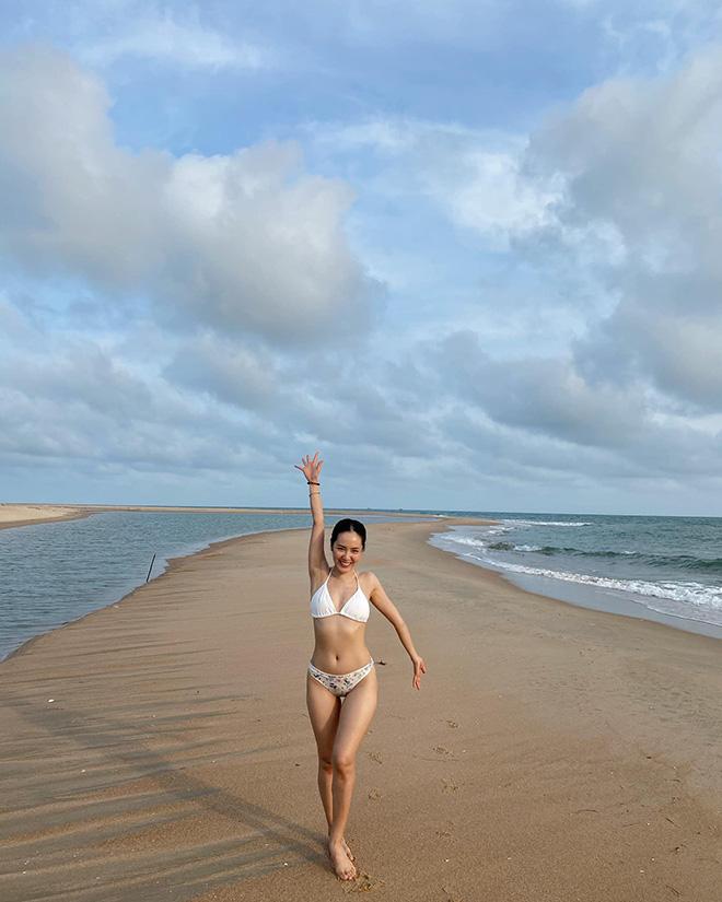 Tung loạt ảnh diện bikini gợi cảm, Phương Linh tiết lộ số đo 3 vòng gây bất ngờ - Ảnh 5.