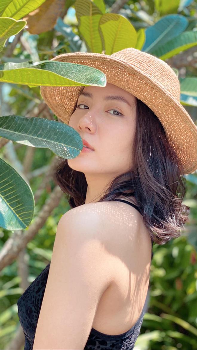 Tung loạt ảnh diện bikini gợi cảm, Phương Linh tiết lộ số đo 3 vòng gây bất ngờ - Ảnh 7.