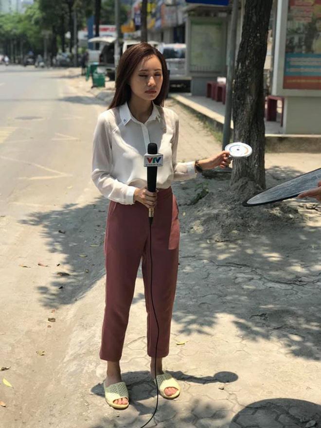 BTV thời tiết xinh đẹp Xuân Anh hé lộ hậu trường hài hước, không thể thấy trên tivi  - Ảnh 2.