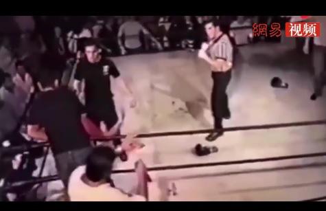 """Hi hữu: Trọng tài cay cú, đòi """"ăn thua đủ"""" sau khi nhấc bổng rồi ném võ sĩ xuống sàn - Ảnh 2."""