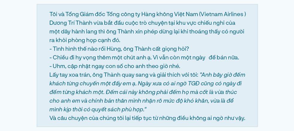 Tổng giám đốc Vietnam Airlines đếm từng hành khách và những việc chưa có tiền lệ trong mùa dịch Covid - Ảnh 1.