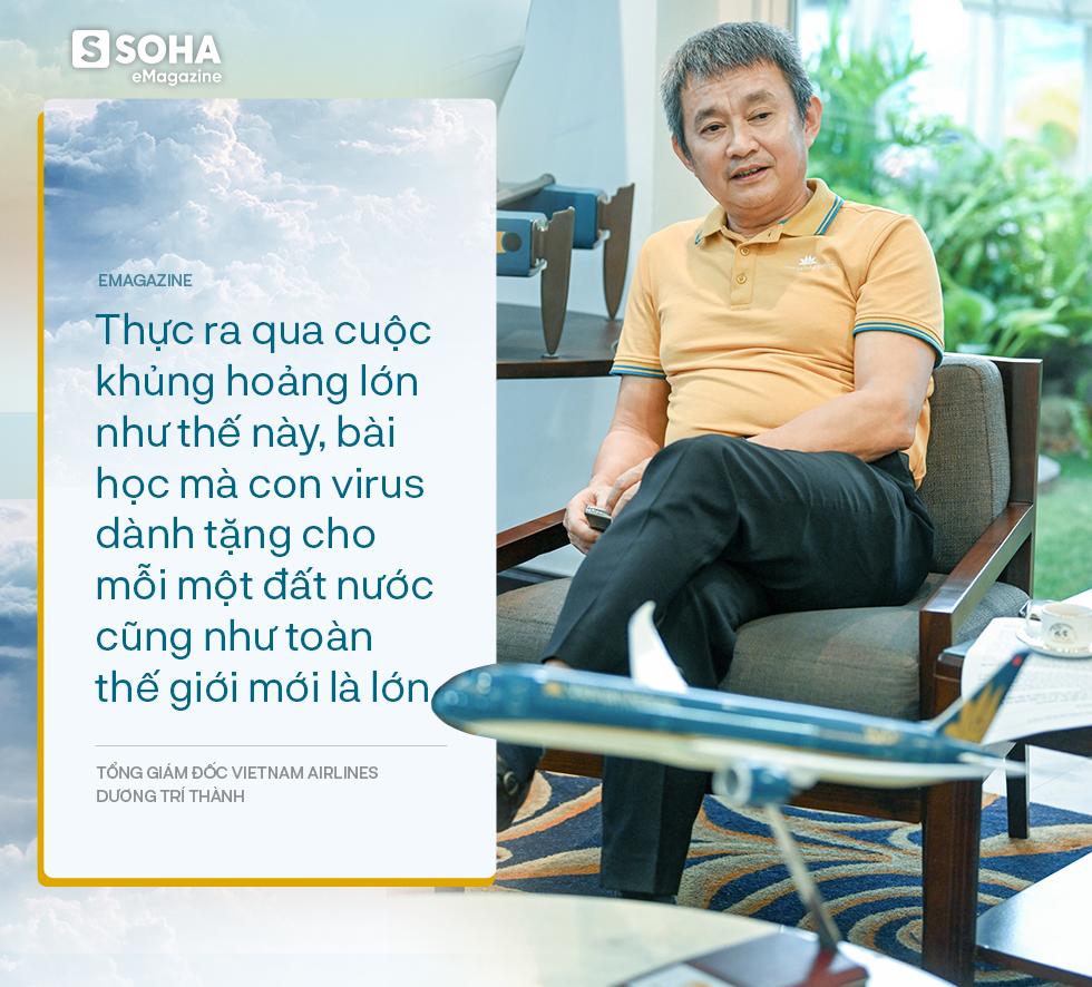 Tổng giám đốc Vietnam Airlines đếm từng hành khách và những việc chưa có tiền lệ trong mùa dịch Covid - Ảnh 13.