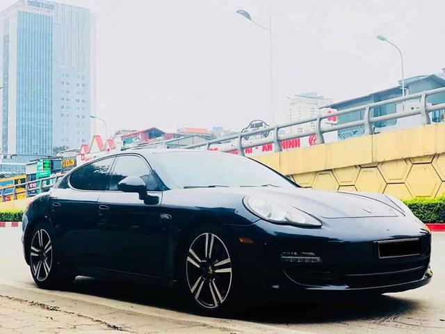Tìm khách mùa Covid, Porsche Panamera 2011 xuống giá ngang tiền lăn bánh VinFast Lux A2.0 mới cứng - Ảnh 1.