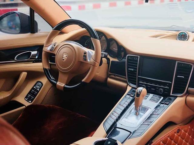 Tìm khách mùa Covid, Porsche Panamera 2011 xuống giá ngang tiền lăn bánh VinFast Lux A2.0 mới cứng - Ảnh 3.
