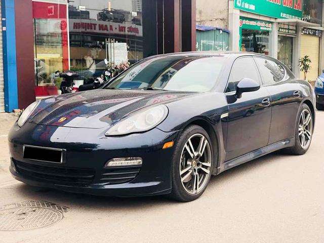 Tìm khách mùa Covid, Porsche Panamera 2011 xuống giá ngang tiền lăn bánh VinFast Lux A2.0 mới cứng - Ảnh 4.