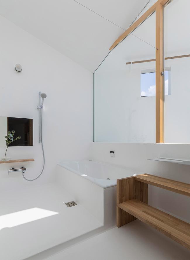 Ngôi nhà nhỏ ở Nhật được thiết kế siêu độc đáo để ăn gian diện tích, giúp nhà rộng hơn nhờ vào các không gian chức năng được chia theo... toán học - Ảnh 7.