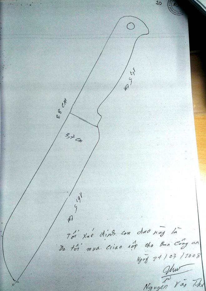 Kỳ án tử tù Hồ Duy Hải - Kỳ 1: Mua con dao ở chợ làm tang vật thay hung khí bị mất - Ảnh 3.