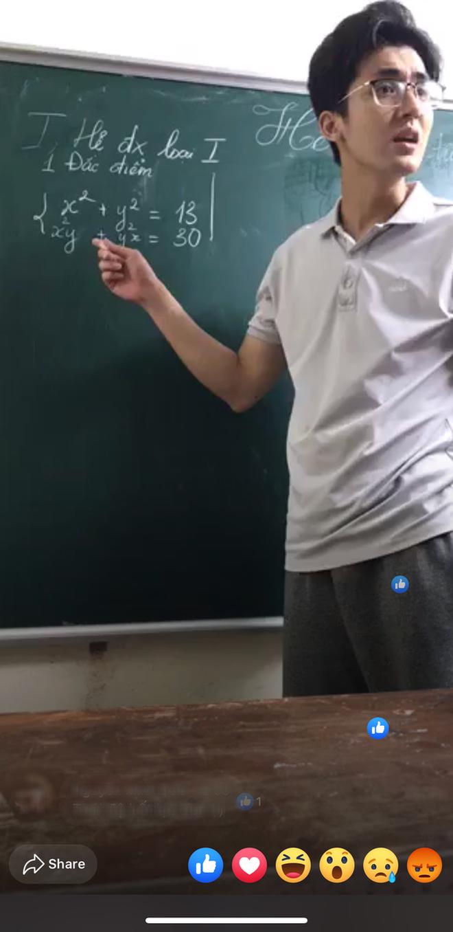 Bất ngờ lộ tờ đăng ký nợ 10 môn một lúc thời đi học, thầy giáo giảng bài trên livestream hot nhất MXH nói gì? - Ảnh 3.