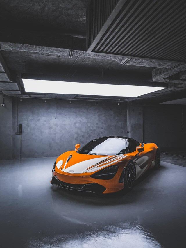 Xem doanh nhân Nguyễn Quốc Cường tự rửa siêu xe McLaren trong garage bạc tỷ, lên ảnh như nước ngoài - Ảnh 5.