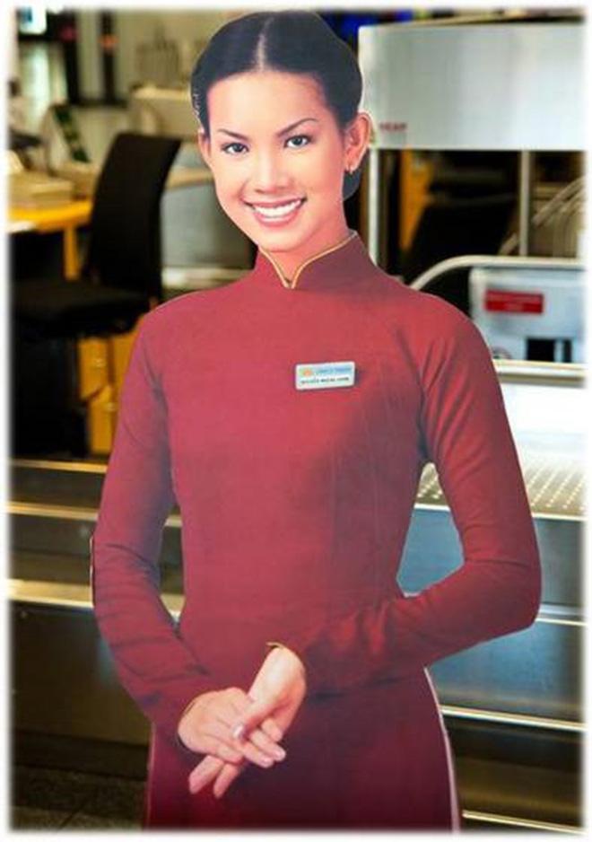 Danh tính của mỹ nhân xinh đẹp, từng là hình ảnh đại diện Vietnam Airlines - Ảnh 3.