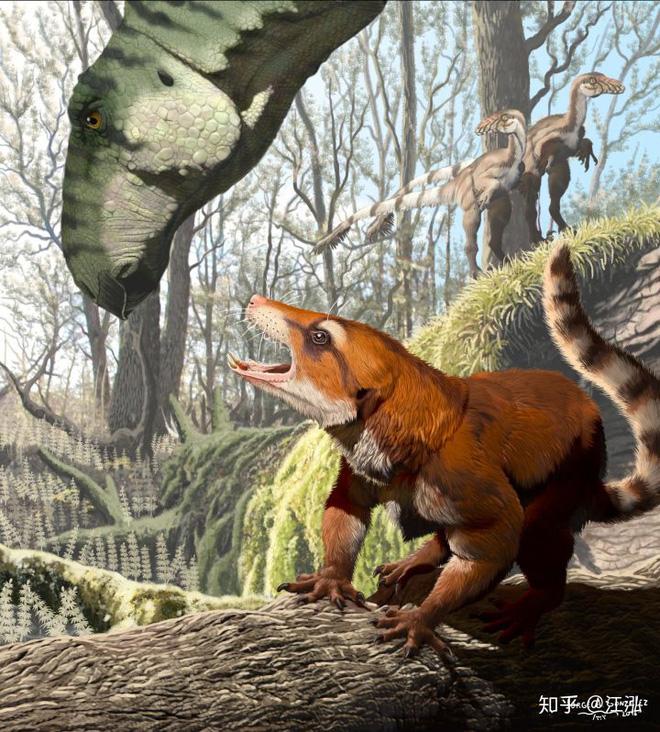 Tại sao không có động vật có vú khổng lồ trong kỷ nguyên khủng long? - Ảnh 1.