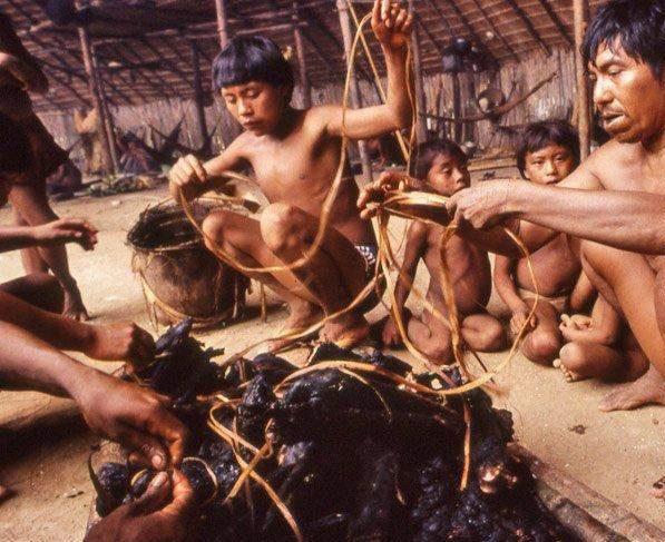 Bộ lạc kỳ dị ở Nam Mỹ: Cuộc sống khép kín và hủ tục mai táng bằng cách ăn tro cốt của người chết - Ảnh 4.