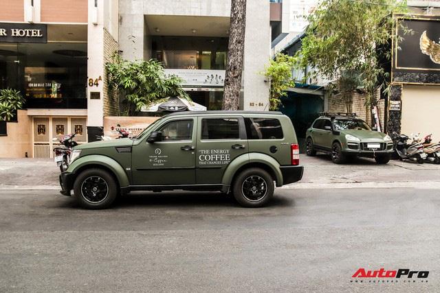 SUV địa hình Dodge hàng độc của ông Đặng Lê Nguyên Vũ bất ngờ xuất hiện trên phố Sài Gòn - Ảnh 7.
