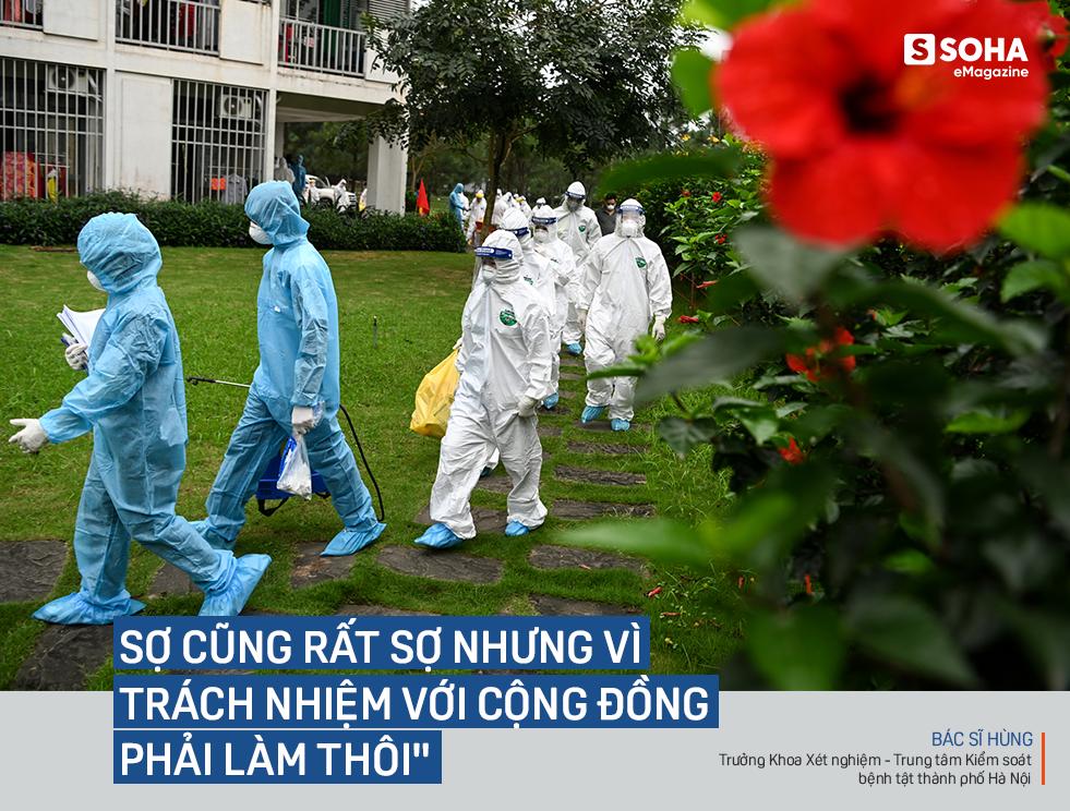 Ngứa không được gãi, khát không được uống, vệ sinh không được đi, họ là 500 thợ săn virus ở CDC lớn nhất Việt Nam - Ảnh 3.