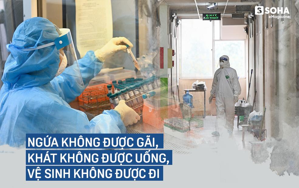 Ngứa không được gãi, khát không được uống, vệ sinh không được đi, họ là 500 thợ săn virus ở CDC lớn nhất Việt Nam - Ảnh 14.