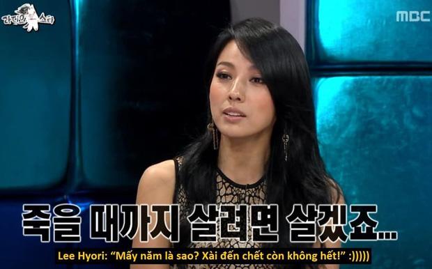 """Được tiền bối hỏi thăm vì phải sống bằng tiền tiết kiệm, Lee Hyori đáp trả bá đạo: Tiền xài đến chết còn không hết"""" - Ảnh 2."""