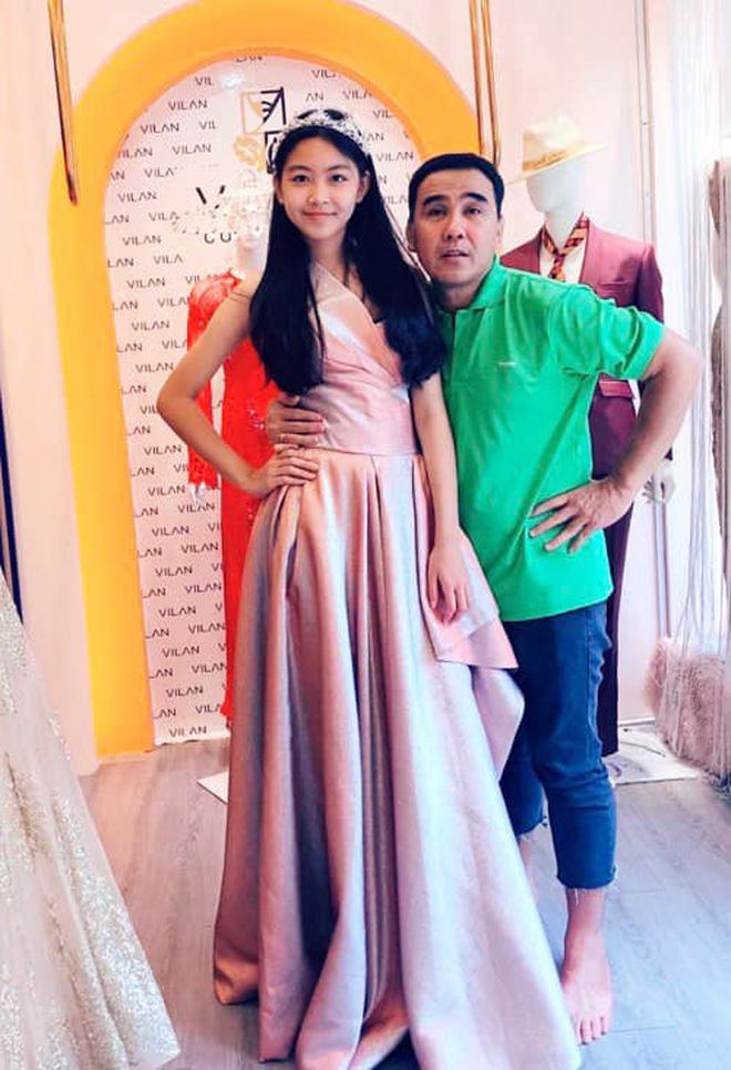 Con gái Quyền Linh mặc áo dài của mẹ đón sinh nhật tuổi 14: Đẹp nức nở thế này thì là công chúa chứ Lọ Lem gì! - Ảnh 6.