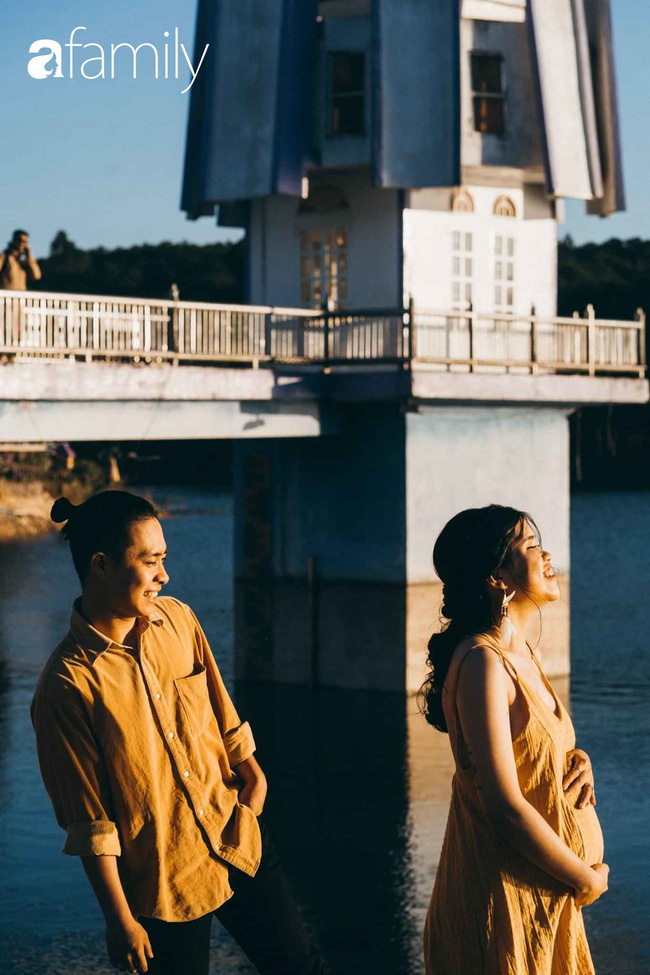 Sự thật về bộ ảnh tình tứ chụp với vợ bầu ở Đà Lạt, người ta bảo muốn biết bộ mặt đàn ông hãy đợi đến khi 2 vạch! - ảnh 1