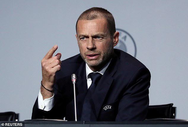 Chủ tịch UEFA đề xuất phương án trao cúp vô địch Ngoại hạng Anh độc nhất vô nhị cho Liverpool - Ảnh 1.