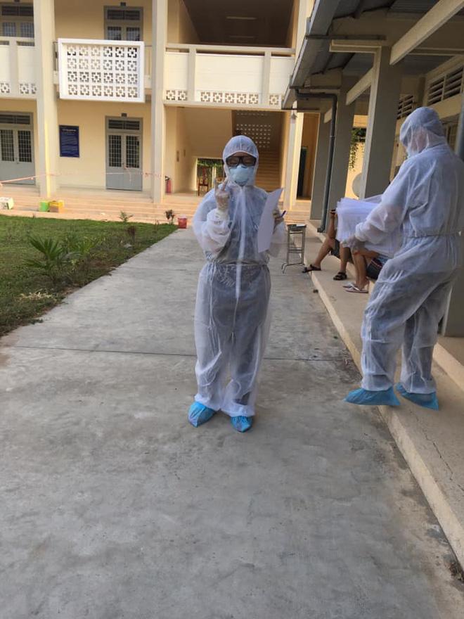 Nữ sinh viên ngành Y tình nguyện làm việc ở khu cách ly: Người tuyến đầu chống dịch còn không sợ chết thì mình sợ cái gì? - Ảnh 3.
