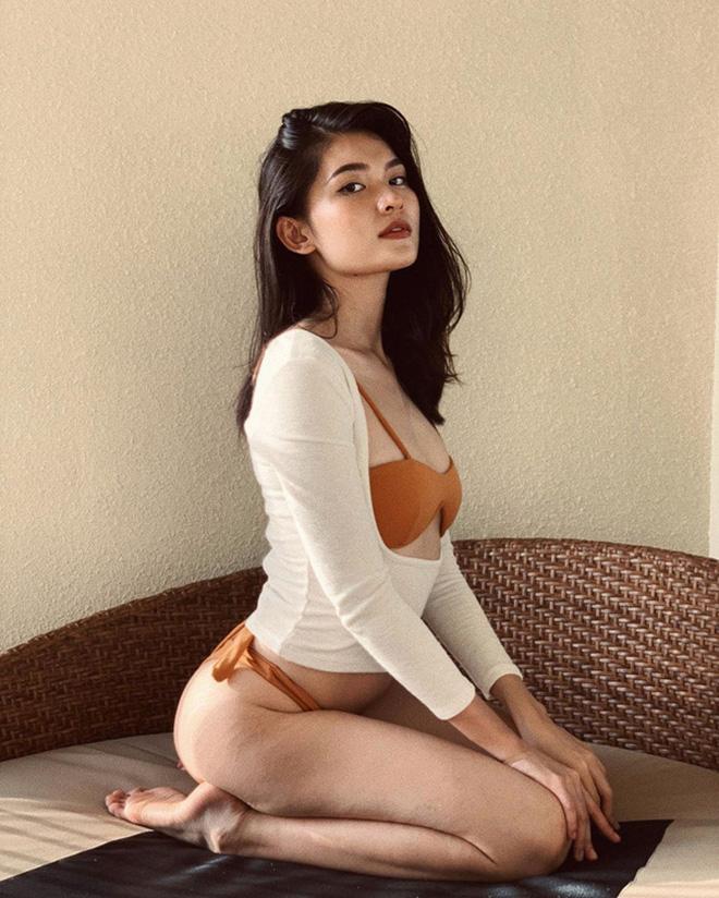Á hậu nổi tiếng ngoan hiền chăm khoe ảnh bikini sau khi công khai bạn trai doanh nhân - Ảnh 14.