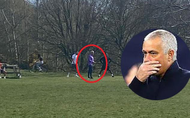Dắt học trò đi tập giữa dịch Covid-19, Mourinho có nguy cơ bị cảnh sát Anh ''sờ gáy''