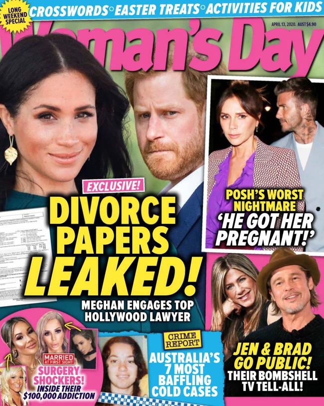 Vừa đến Mỹ sinh sống, vợ chồng Meghan Markle lại dính nghi vấn rò rỉ giấy tờ ly hôn? - Ảnh 2.
