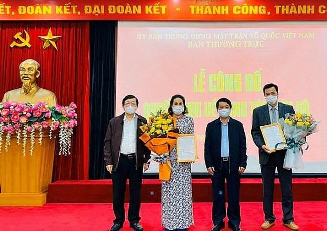 VKSND Tối cao, Ủy ban Trung ương MTTQVN bổ nhiệm nhân sự - Ảnh 1.