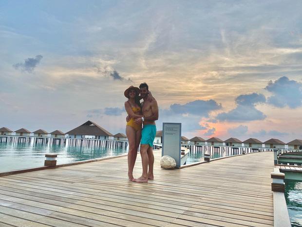 """Vẫn đi tuần trăng mật ở Maldives giữa mùa Covid-19, cặp đôi mới cưới bị mắc kẹt trên """"hòn đảo thiên đường chưa biết ngày về - Ảnh 8."""