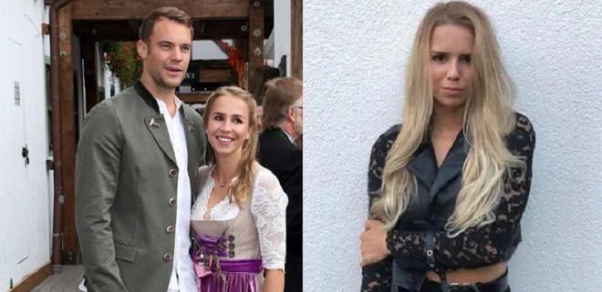 Thủ môn Neuer gây sốc khi cặp kè bản sao vợ cũ - Ảnh 1.