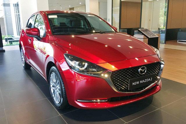 Mazda2 'dọn kho' giảm giá kỷ lục 55 triệu đồng, rẻ ngang Toyota Vios - Ảnh 2.