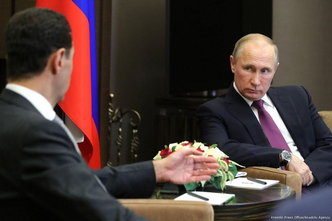 """Ông Putin """"nổi trận lôi đình"""" với TT Syria Assad: Hé lộ những lý do nghiêm trọng - Ảnh 1."""