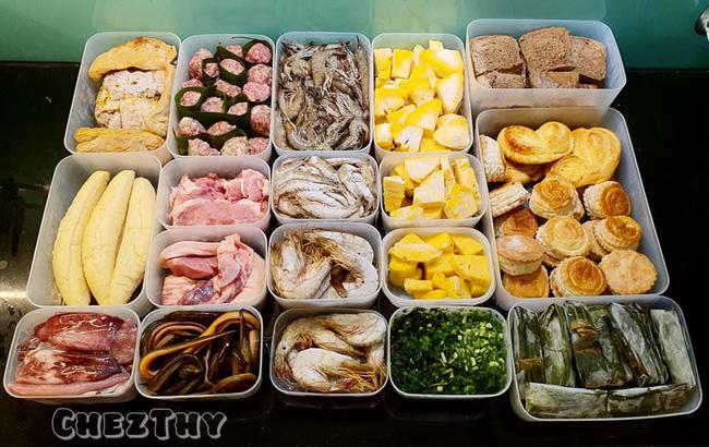 Mẹ 9x chia sẻ cách trữ đông thực phẩm không bị dính thành tảng cực dễ làm - Ảnh 1.