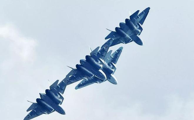 """Su-57 Nga """"tung hoành ngang dọc"""" ở Syria hàng chục lần để làm gì? - Ảnh 1."""
